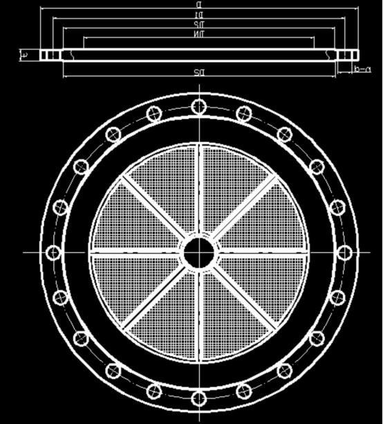 流化板结构